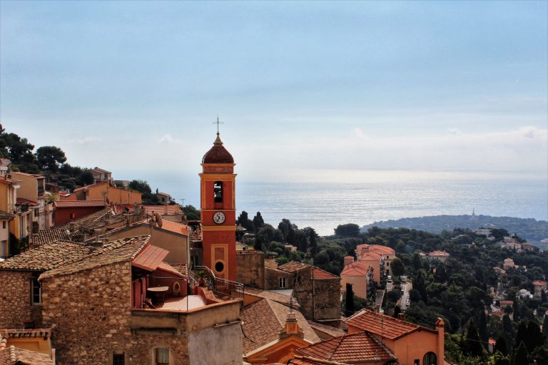 Roquebrune Cap Martin is a beautiful hilltop village in the south of France.