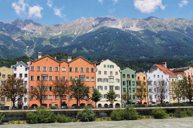 Innsbruck Austria, a alpine town full of year-round activities.