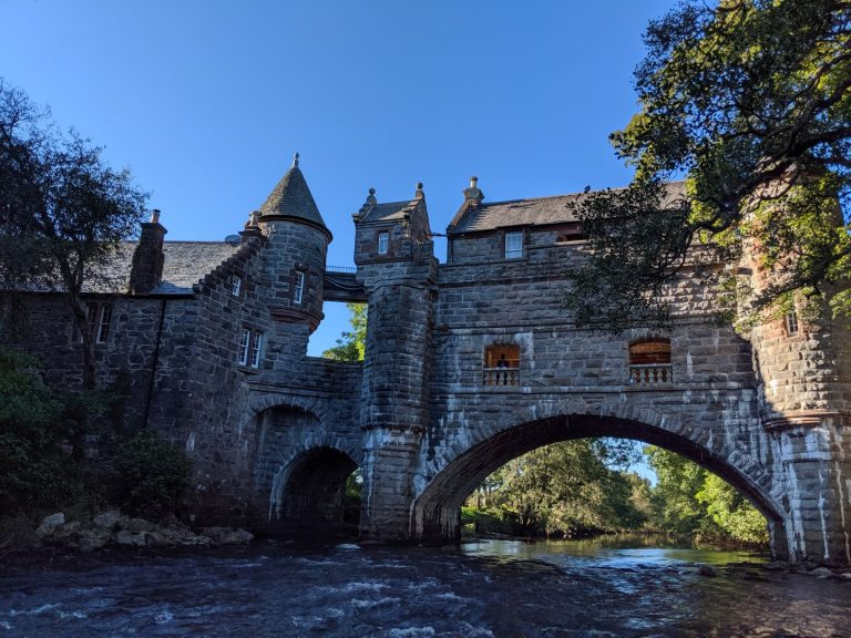 Stay at the The Bridge House Airbnb in Ballintuim, Scotland | Best Airbnb Properties Around the Globe | www.DreamPlanExperience.com