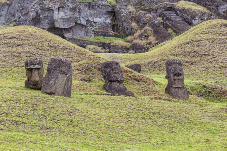 Located in the southeastern Pacific Ocean, far from any landmass, Easter Island's remote location puts it out of reach for many travellers, but those who make the journey are rewarded with fascinating ancient sites and a pleasantly uncrowded, relaxed atmosphere.