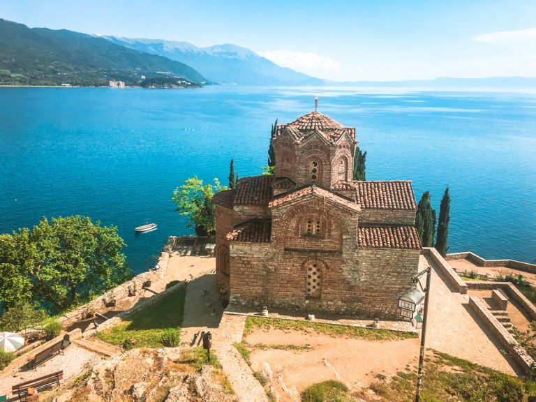 Lake Ohrid in North Macedonia is a special non-touristy destination that needs to be added to your Balkan bucket list.