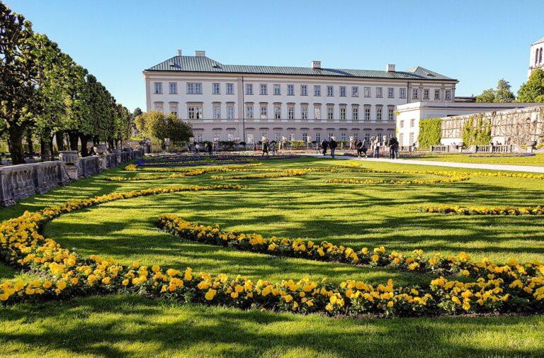 Mirabell Palace & Garden in Salzburg Austria