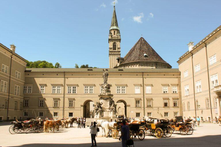 Residence Square in Salzburg Austria