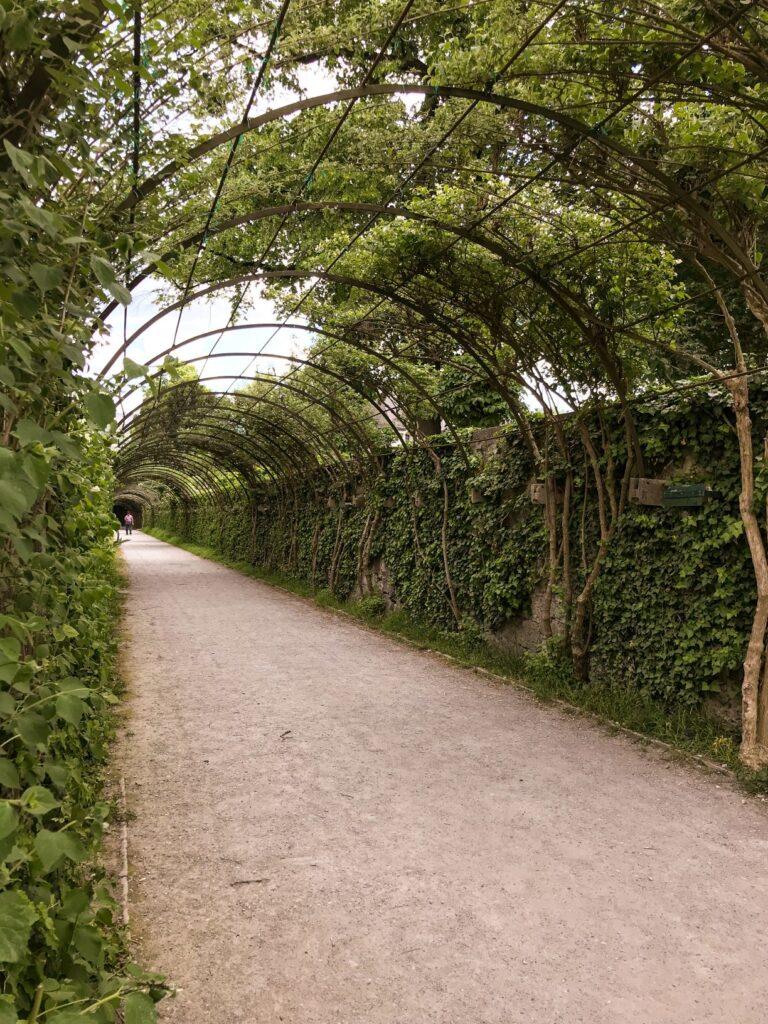 Mirabell Garden in Salzburg Austria