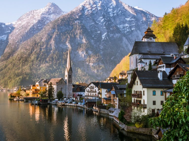 The alpine valleys of Hallstatt-Dachstein-- part of the Salzkammergut Cultural Landscape--have been inhabited for over 3,000 years. The area's ancient salt mines, preserved historic buildings, and natural beauty earned it a UNESCO designation in 1997.
