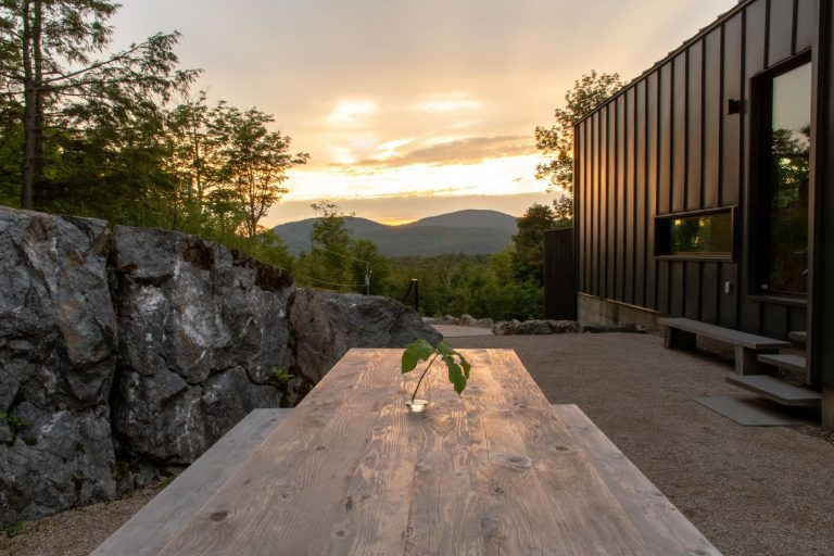 Views of Mount Orford in the Eastern Townships of Quebec