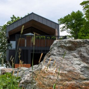 A luxury rental property in the mountains of the Eastern Townships in Quebec Canada