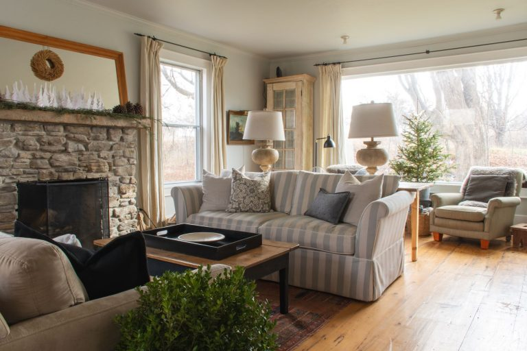 Stay at this large Airbnb French country farmhouse in Prince Edward County, Ontario