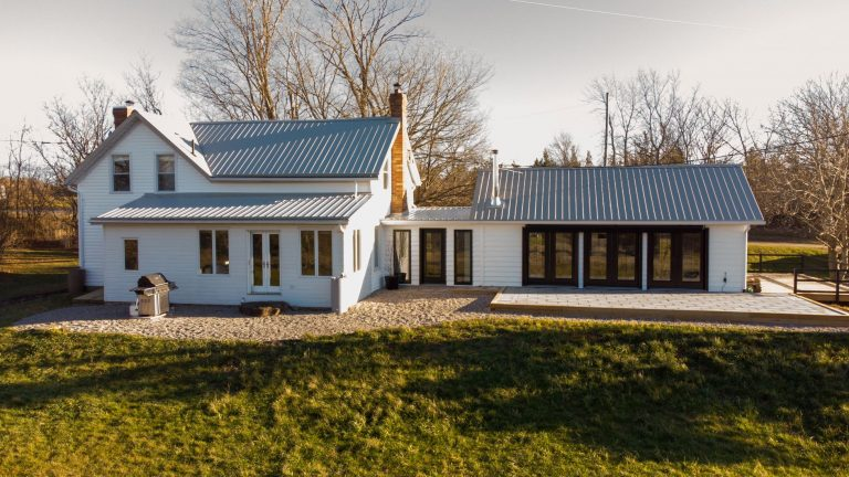 This 200 yr old farmhouse features a quiet pastoral setting in Prince Edward County, Ontario. Stay at this Airbnb, a French country charmer that welcomes up to 10 guests.