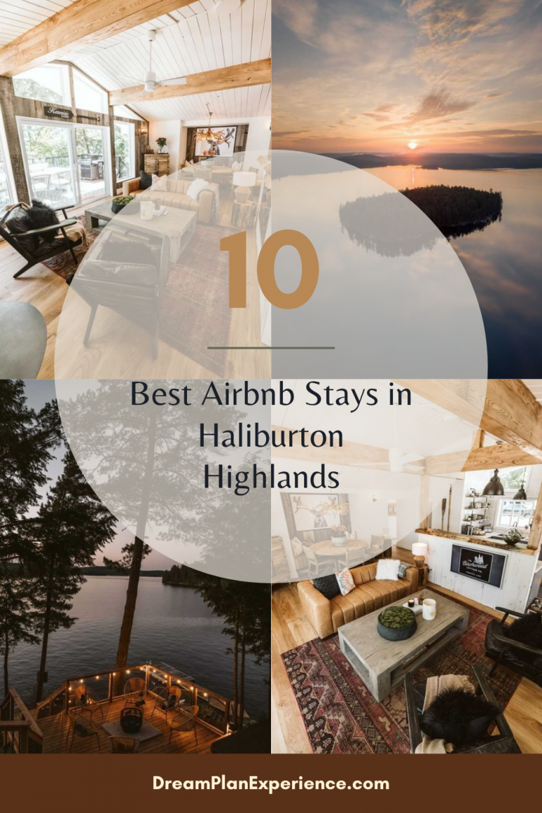 Looking for a cottage stay in Ontario's Haliburton Highlands? Look no further, I've done the research for you and have pulled together the best cottage rental properties in this area. #Haliburton #cottagerental