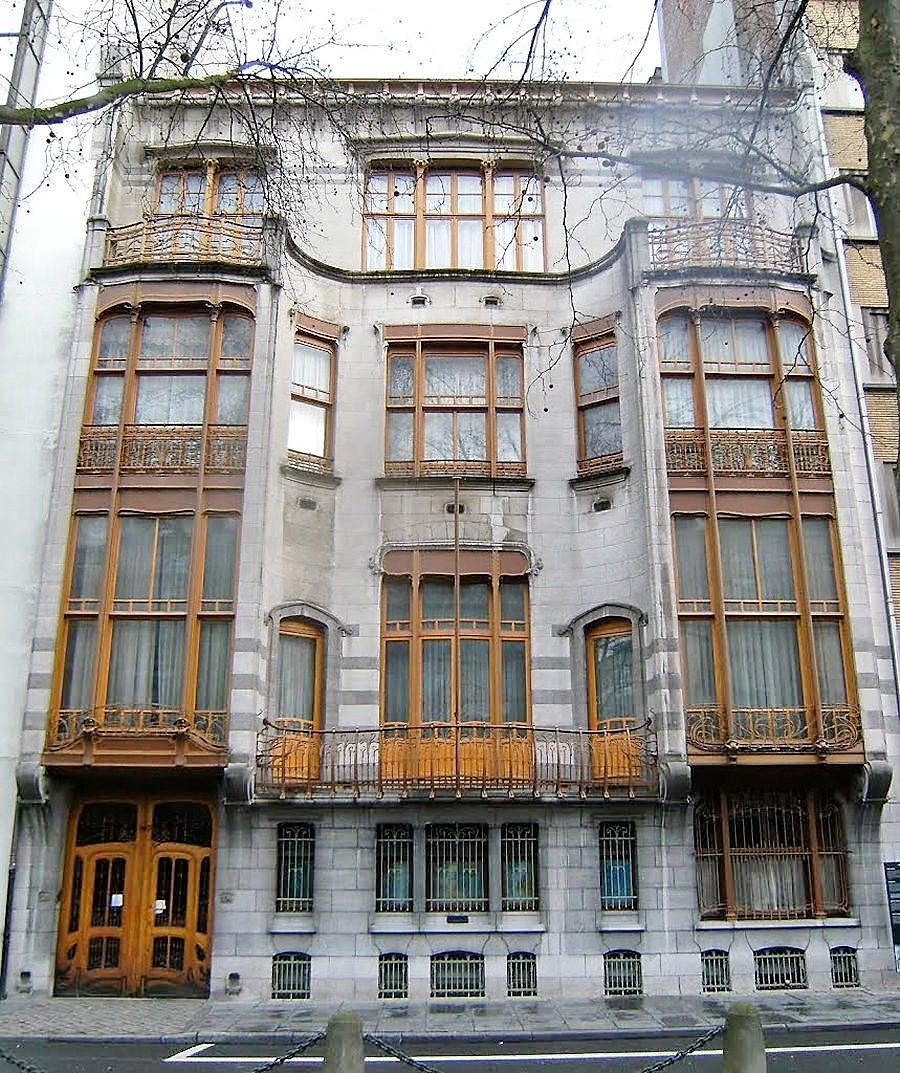 Hotel Solvay, Brussels Belgium. Designed in 1900 by Victor Horta.