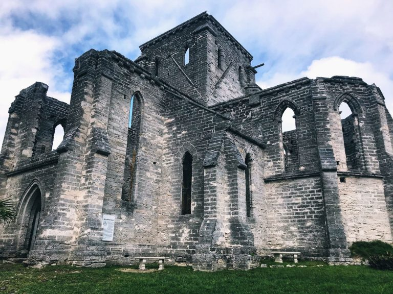 The Unfinished Church in Bermuda | www.DreamPlanExperience.com