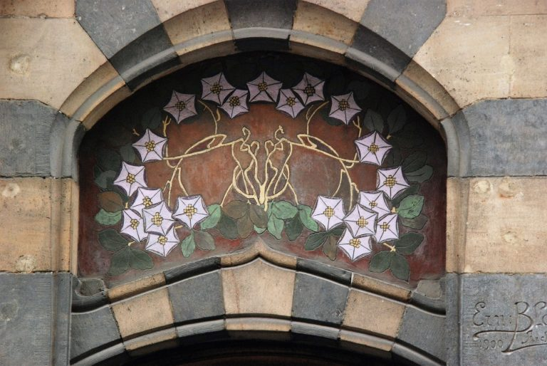 Visit Brussels in Belgium and do a walking tour of Art Nouveau architecture, spread all around the city.