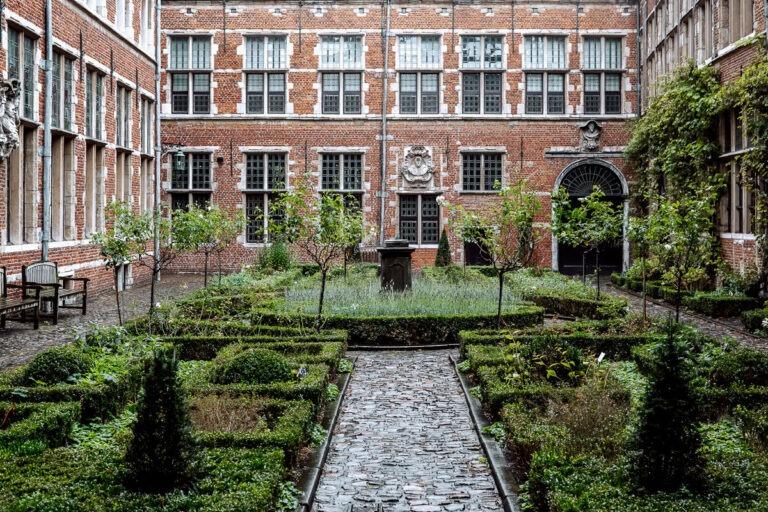 The Plantin-Moretus Museum in Antwerp, Belgium is an UNESCO World Heritage site.
