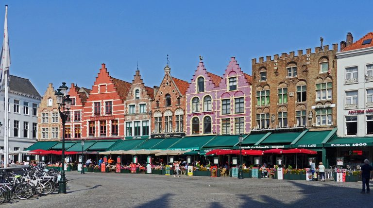 The historic centre of Bruges as well as its Belfry are designated UNESCO World Heritage Sites