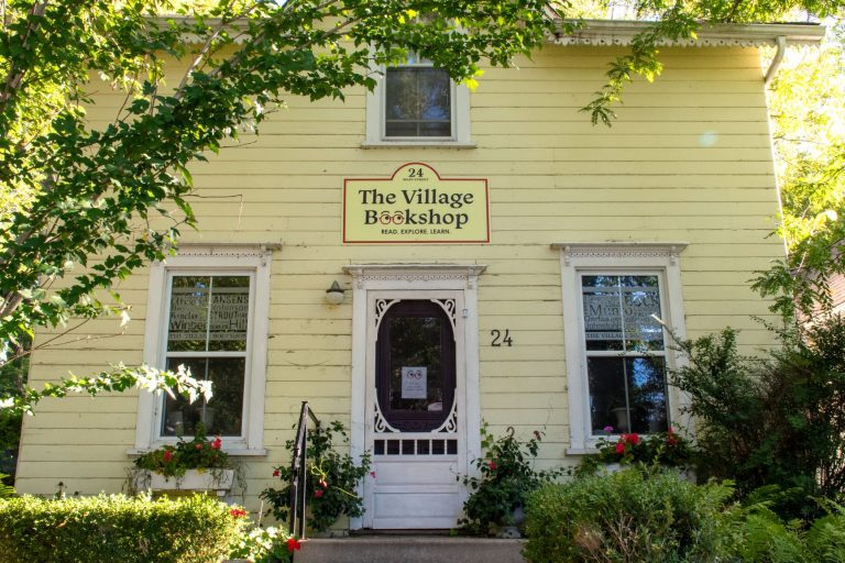 Bayfield Ontario has a charming historic downtown full of lovely shops.