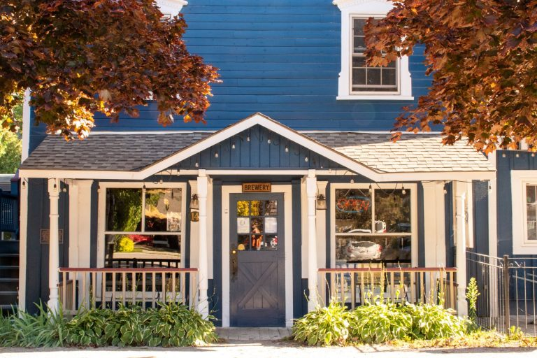 Bayfield Ontario has a charming historic downtown full of delicious laid back eateries.