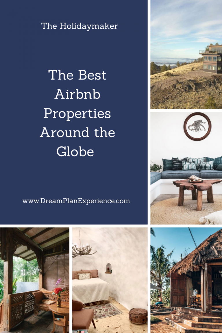Check out the most dreamy, unique and stylized in The Best Airbnb Properties Around the Globe