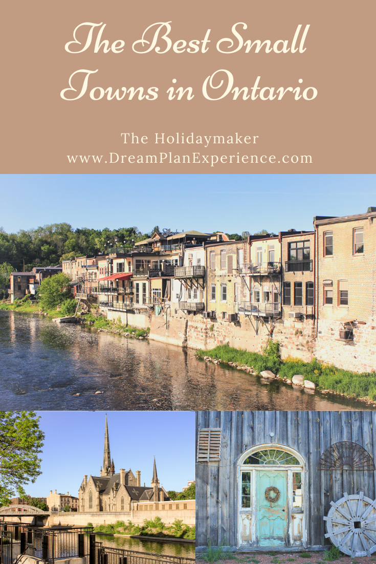 Looking to plan a day trip? Why not visit one of these charming towns. | Best Small Towns in Ontario | www.DreamPlanExperience.com