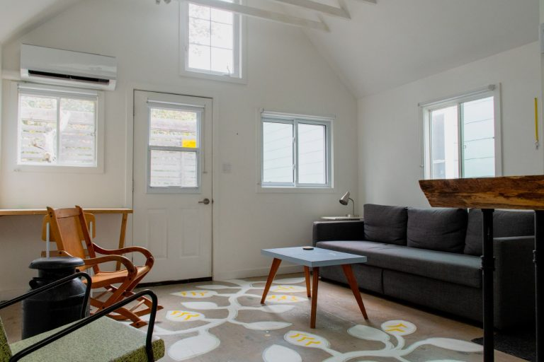 he Coach House, an Airbnb property in Prince Edward County, Ontario, Canada