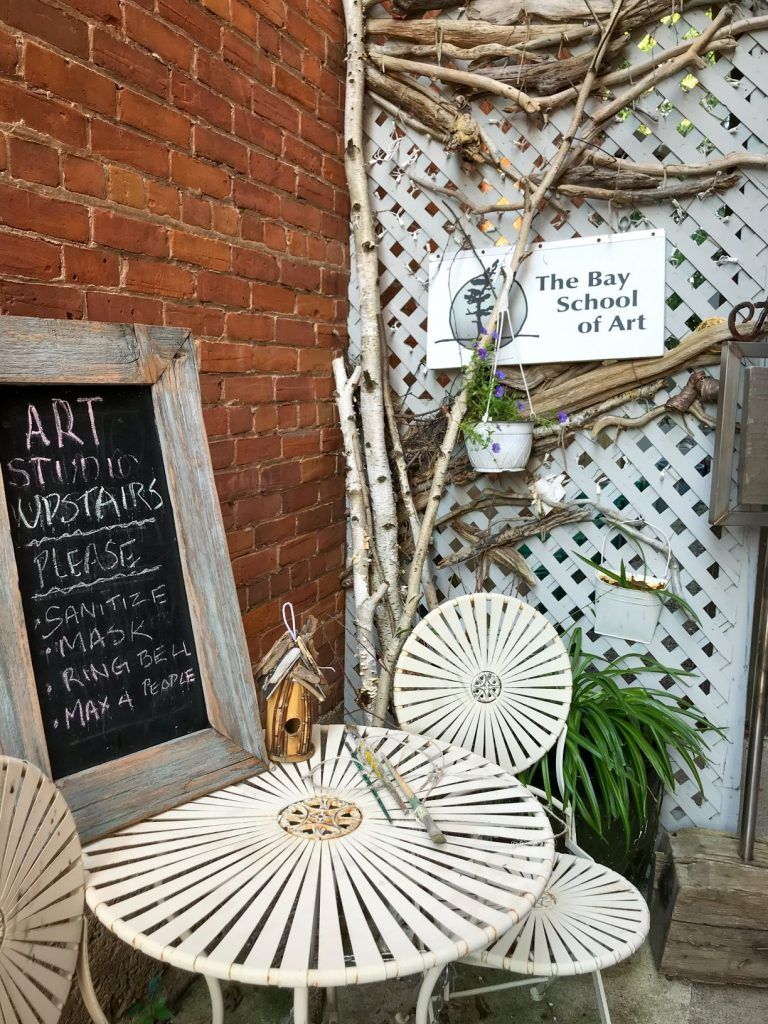 Visit local art studio in Creemore, Ontario | Creemore - a Little Village with a Big Heart | www.DreamPlanExperience.com