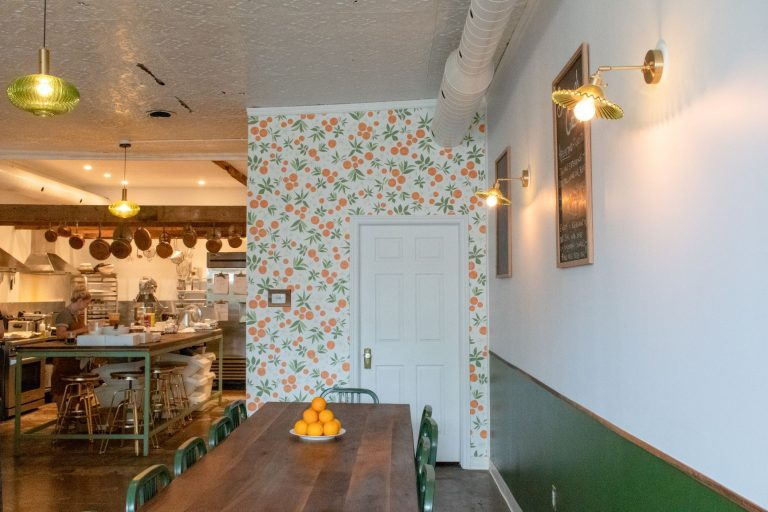 The stylish Italian cafe, Enid Grace Culinary & Piccolina is located in Wellington, Prince Edward County, Ontario