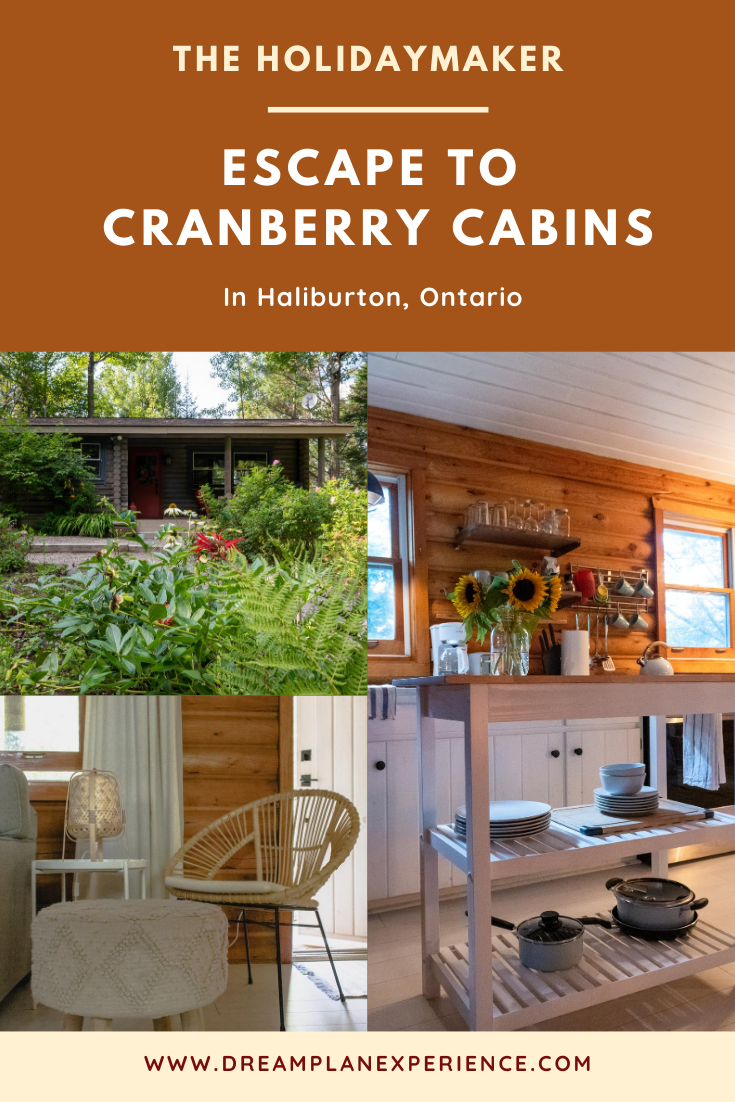 Escape to Cranberry Cabins in Haliburton, Ontario, Canada | www.DreamPlanExperience.com
