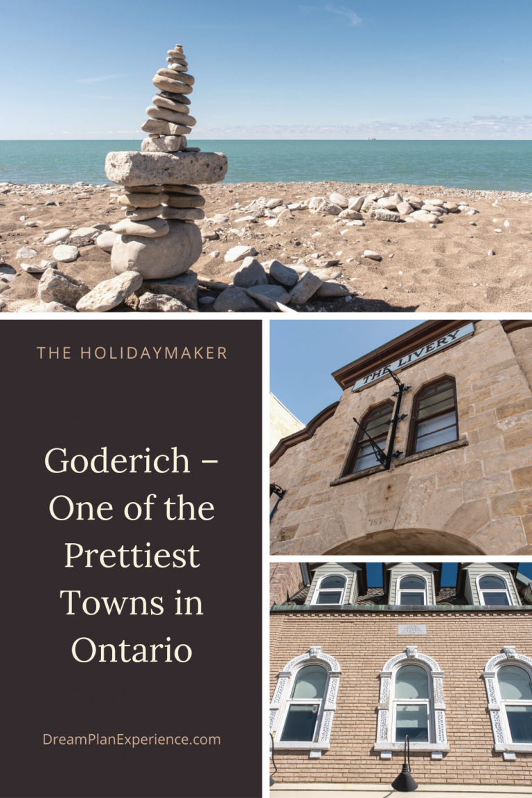 Goderich - one of Ontario's prettiest towns sits on the shores of Lake Huron #Ontario #Goderich