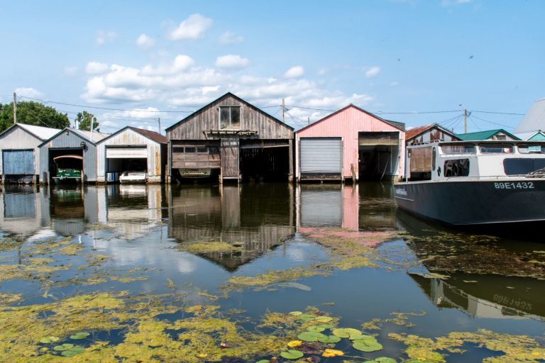 Port Rowan sits on the shores of Lake Erie in Ontario, Canada