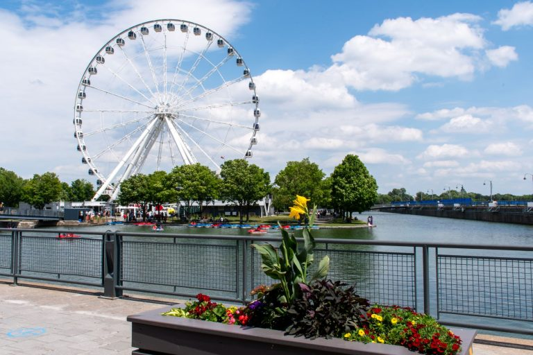 Old Port in Montreal, Quebec originated in early 17th century. Today it is for tourism - chock full of activities.