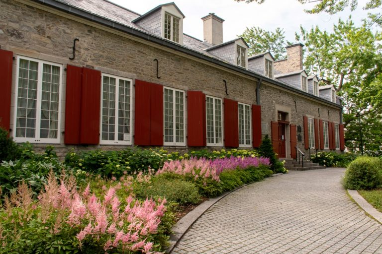 The Château Ramezay in Old Montreal is a historic site with a Museum and gardens featuring the 500-year old history of the city.