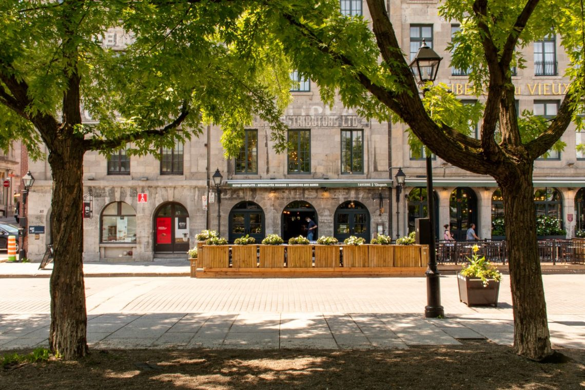 Take a stroll in Old Montreal along the Grand Quay and Old Port.