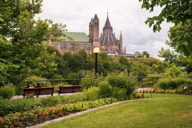 Major Hill Park offers the best views of the city | The 10 Best Things to Do in Ottawa | www.DreamPlanExperience.com