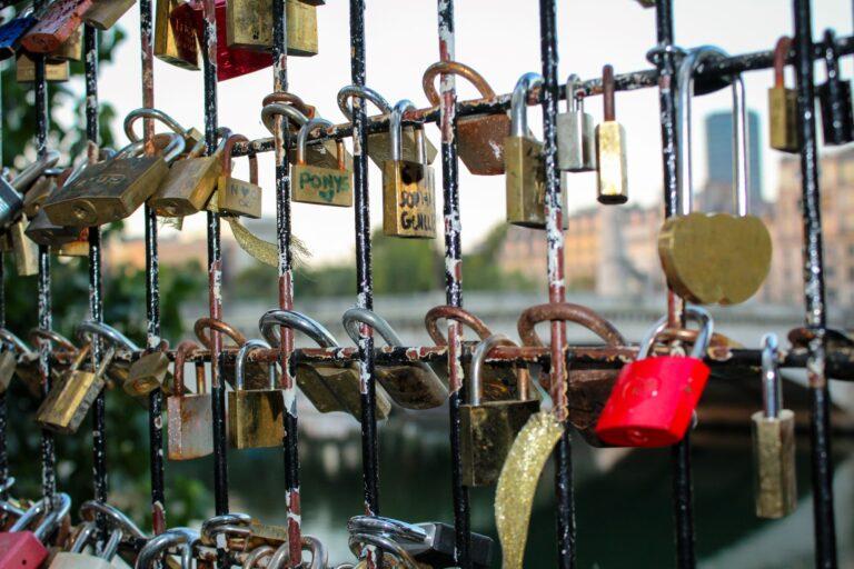 Love locks in Paris began the global phenomenon of couples symbolizing their eternal love.