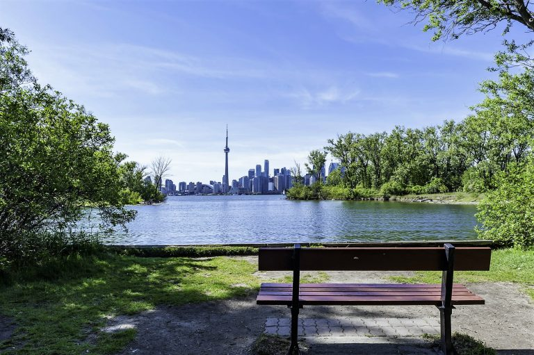 Toronto Islands is an escape from the downtown core. A short ferry ride away and you will have access to parks, beaches and amusement park.