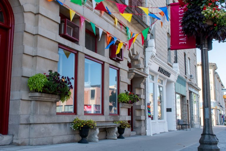 A walk through the historic streets of St. Marys, Ontario offers a first-hand look at the stunning limestone architecture and vibrant downtown core.