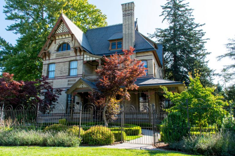 The James Carter House, built in 1883, sits in St. Marys, Ontario, Canada and is one of four mansions built by local businessman George Carter.