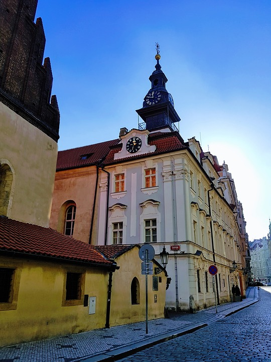 Jewish Synagogue featured in Guide to Prague's Historical Quarters: Jewish Quarter | www.DreamPlanExperience.com