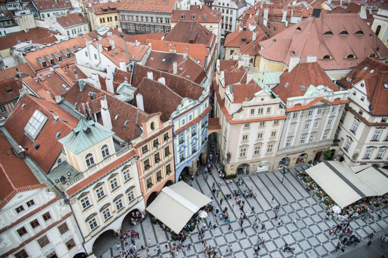 Prague's main square in Old Town is one of Europe's finest.