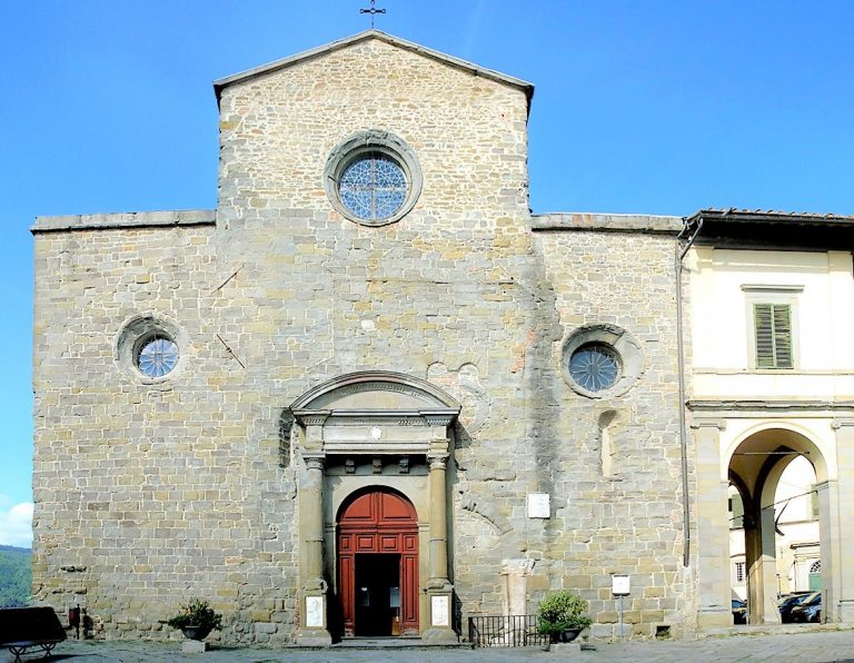 Cortona, can be found in the Tuscan region of Italy. A lovely small town that features many beautiful churches