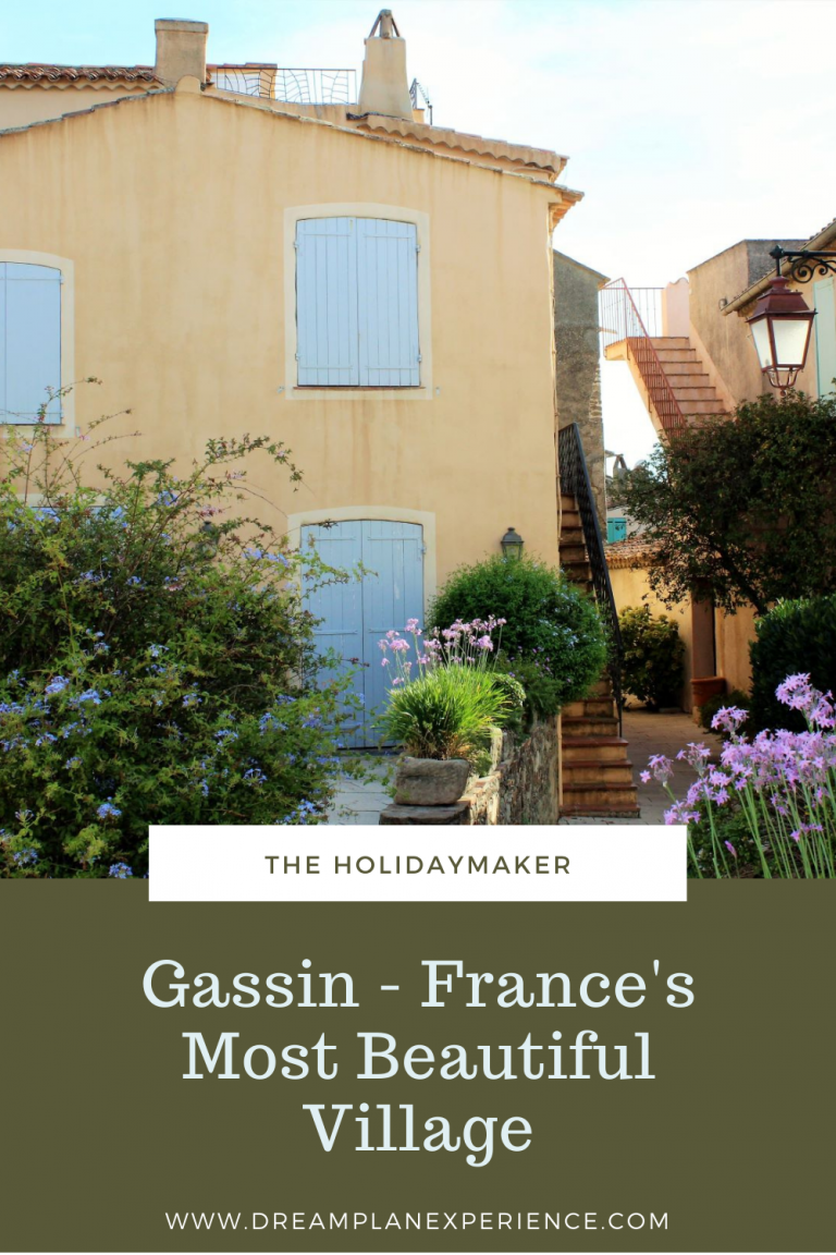 Visit Gassin, France. Considered to be one of the most beautiful villages in France. Close to Saint Tropez. #Gassin #France