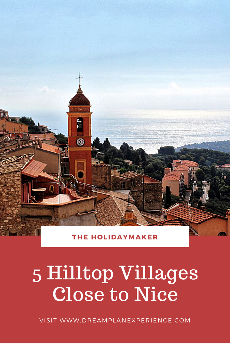 Check out these 5 beautiful hilltop villages in the south of France. All close to Nice.