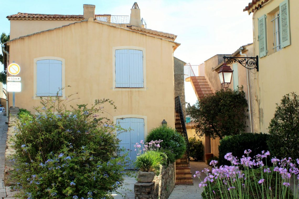 Visit France's Most Beautiful Village, Gassin, in the south of France.