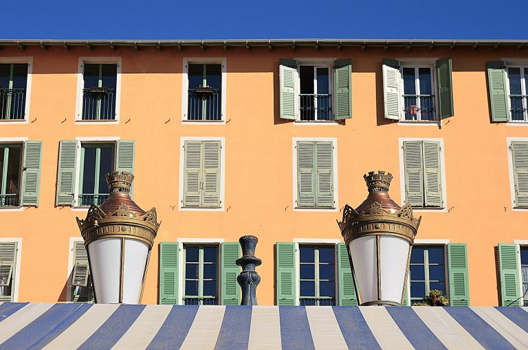 Nice (France) Old Town - a blended mix of Italian and French