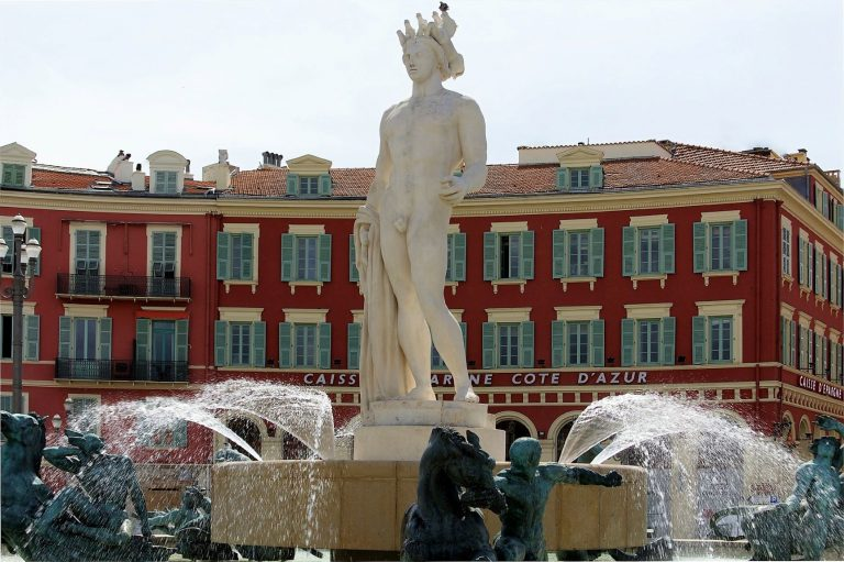 Nice (France) largest square is Place Messena.