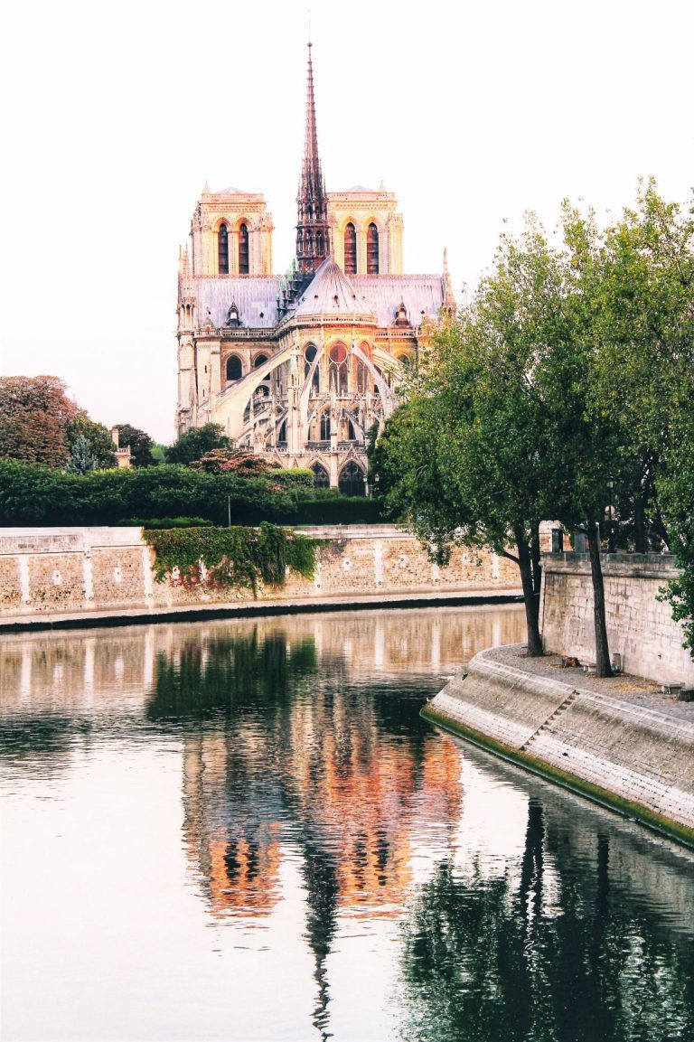 The lovely views from Île Saint-Louis to Notre-Dame.