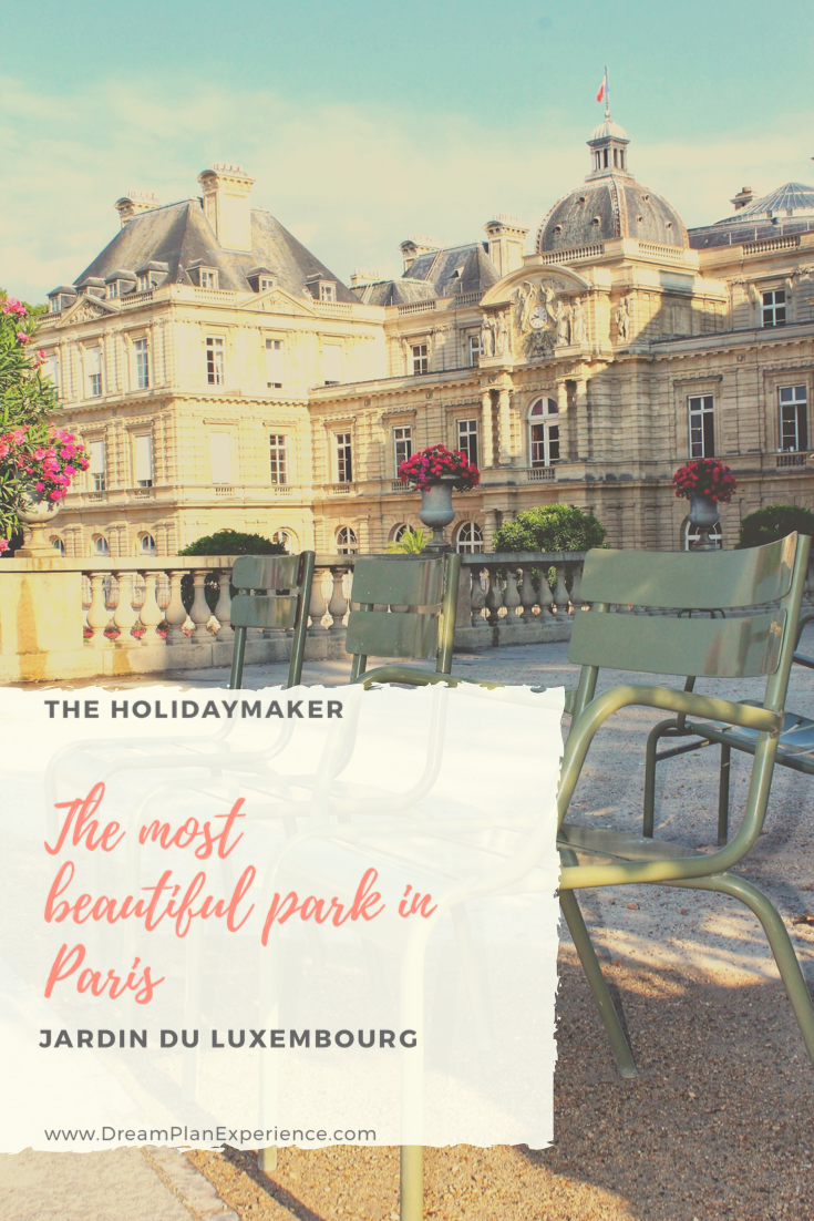 Jardin du Luxembourg is one of Paris's most beautiful parks