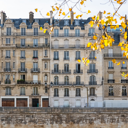 This is the beautiful Île Saint-Louis in Paris. There are no significant landmarks or attractions, only postcard worthy views and historic architecture.