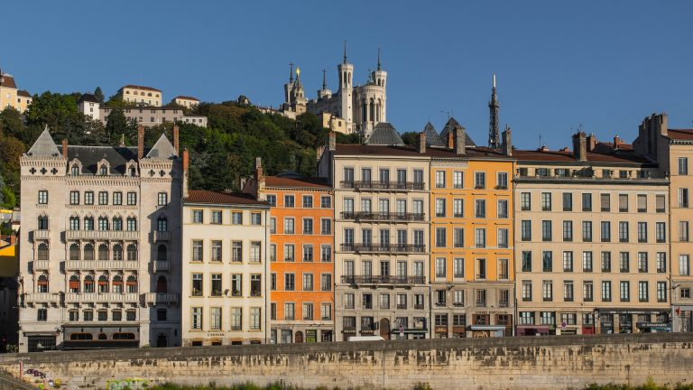 Lyon, France - known for its historic architecture, food and culture.