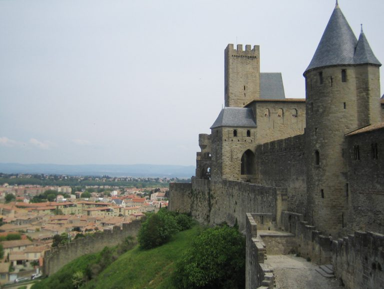 The medieval city of Carcassonne, in the Occitanie region in southern France, is listed as UNESCO World Heritage site.